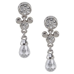 Disney Arribas Earrings - Mickey Mouse Teardrop