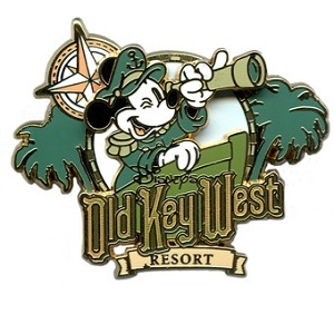 Disney Old Key West Resort Pin - Mickey Mouse