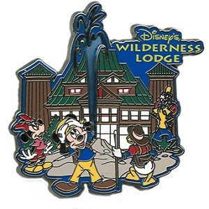 Disney Wilderness Lodge Pin - Mickey Mouse Logo