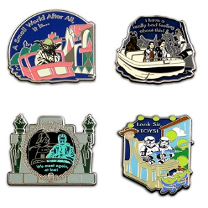 Disney Booster Pin Set - Star Wars in the Park