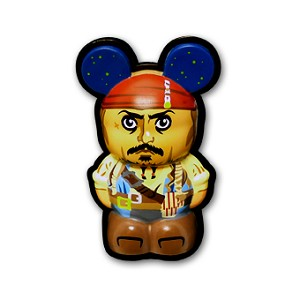 Disney Vinylmation 3D Pin - Captain Jack Sparrow