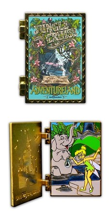 Disney Attraction Posters Pin - The Jungle Cruise - Limited Edition