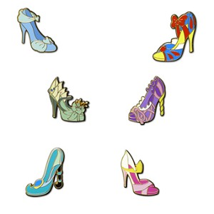 Disney Princess Pin Set - Princesses Shoes