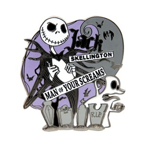 Disney Jack Skellington Pin - Man of Your Screams