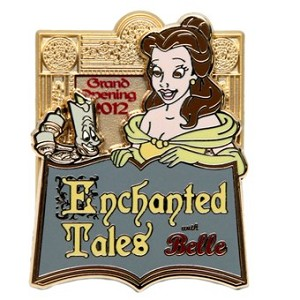Disney New Fantasyland Pin - Enchanted Tales with Belle Grand Opening - LE