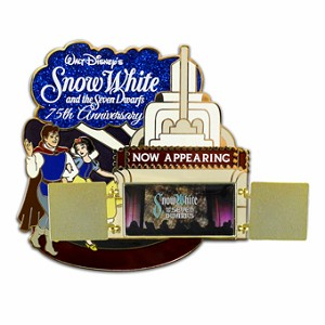 Disney Snow White Pin - 75th Anniversary Jumbo