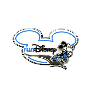 Disney Marathon Pin - 2013 Run Disney - Mickey Mouse