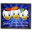 Disney 75th Anniversary Pin - Huey, Dewey and Louie - Limited Edition