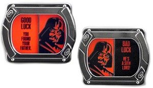 Disney Good Luck, Bad Luck Pin - June - Darth Vader - Limited Edition