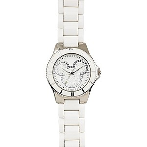 Disney Wrist Watch - Pavé Crystal Mickey Mouse for Women