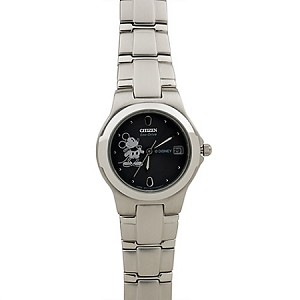 Disney Wrist Watch - Citizen Eco-Drive - Stainless Steel Mickey Mouse for Women