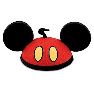 Disney Hat - Ear Hat - Personalizable Red Pants Mickey Mouse