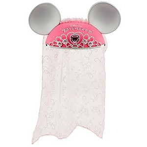 Disney Hat - Ear Hat - Personalizable Disney Princess with Tiara