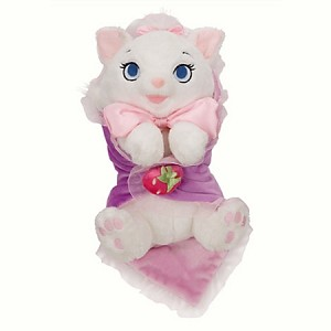 Disney's Babies Plush - Marie - Plush Toy and Blanket