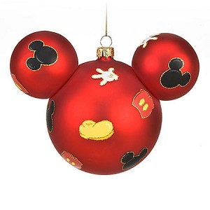 Disney Christmas Ornament - Mickey Mouse Ears - Body Parts