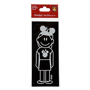Disney Window Decal - Mom with Mickey Mouse Ear Hat