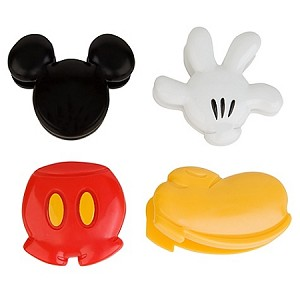 Disney Magnet Set - Best of Mickey Mouse Clips -- 4-Pc.