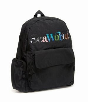 Sea World Backpack Bag - Animal Letters - Logo