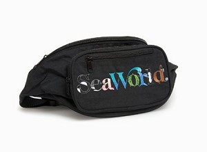 Sea World Waist Pack Bag - Animal Letters - Logo
