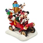 Disney Christmas Figure - Santa Mickey and Friends Car