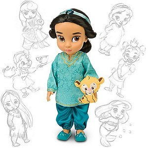 Disney Animators' Collection - Jasmine Doll -- 16'' H
