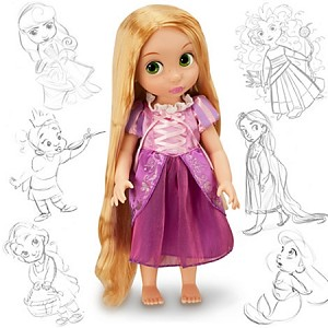Disney Animators Collection Doll - Rapunzel - 16'' H