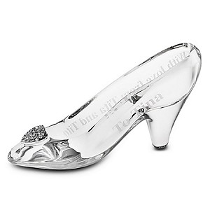 Disney Arribas Figure - Cinderella Glass Slipper - Medium