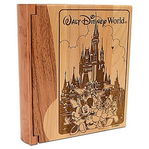 Disney Photo Album - Personalizable Walt Disney World Castle by Arribas