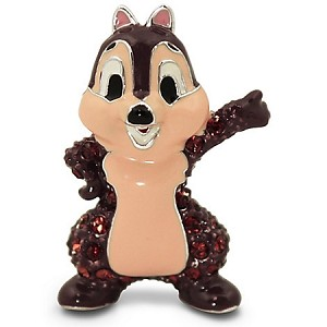 Disney Arribas Figurine - Chip Chipmunk - Jeweled Mini
