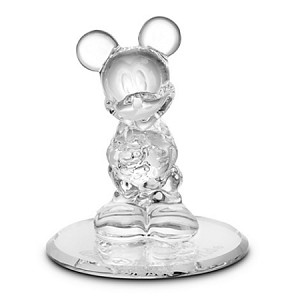 Disney Arribas Glass Figurine - Mickey Mouse