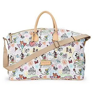 Disney Dooney and Bourke Bag - Sketch - Weekender Luggage Bag