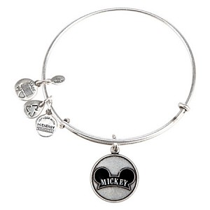Disney Alex and Ani Charm Bracelet - Mickey Mouse Ear Hat - Silver