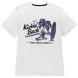 Disney Shirt for MEN - Kickin' Back Tee - Mickey Mouse