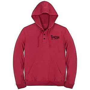 Disney Shirt for ADULTS - Mickey Mouse Polo Hoodie - Red