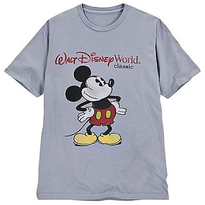 Disney Shirt for MEN - Walt Disney World Classic Mickey
