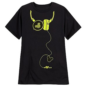 Disney Shirt for MEN - Headphone Mickey Mouse