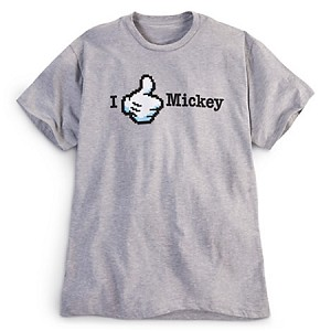 Disney Shirt for MEN - Mickey Mouse Tee - Thumbs up