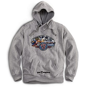 Disney Hoodie for MEN - 2013 Walt Disney World Sweatshirt - Grey