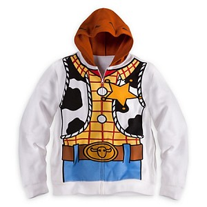 Disney Hoodie for ADULTS - Woody Costume Fleece