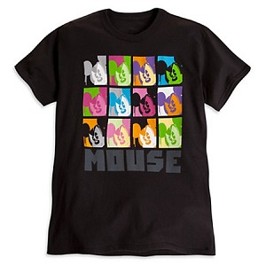 Disney Shirt for Adults - Mickey Mouse Pop Art Tee