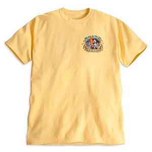 Disney Shirt for Men - Mickey Mouse Board Meeting - Yellow