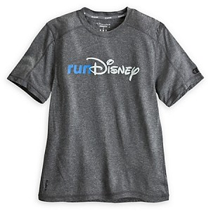 Disney Shirt for Adults - Run Disney Logo - Every Mile is Magic - Grey