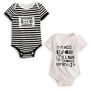 Disney Bodysuit for BABY - Jack Skellington  -- 2-Pc.