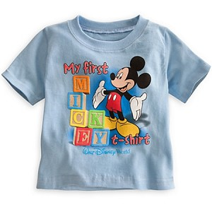 Disney Shirt for Infant - Mickey Mouse - My First Mickey T-Shirt