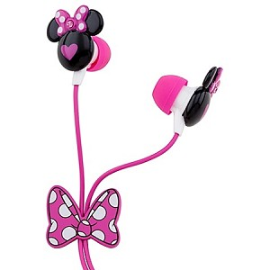 Disney Ear Buds - Sculpted Minnie Mouse