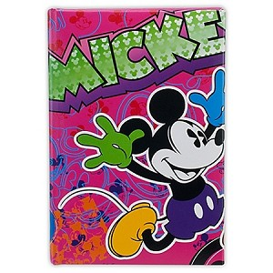 Disney Journal Notebook - Pink Mickey Mouse