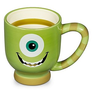 Disney Coffee Mug - Striped Monsters Inc - Mike Wazowski