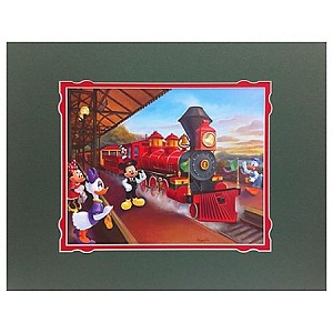 Disney Art Print - Right on Time Deluxe