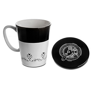 Disney Coffee Mug - Gourmet Mickey Mouse Icon with Lid