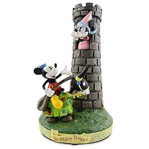 Disney Medium Figure - Ye Olden Days - Minnie and Mickey Mouse